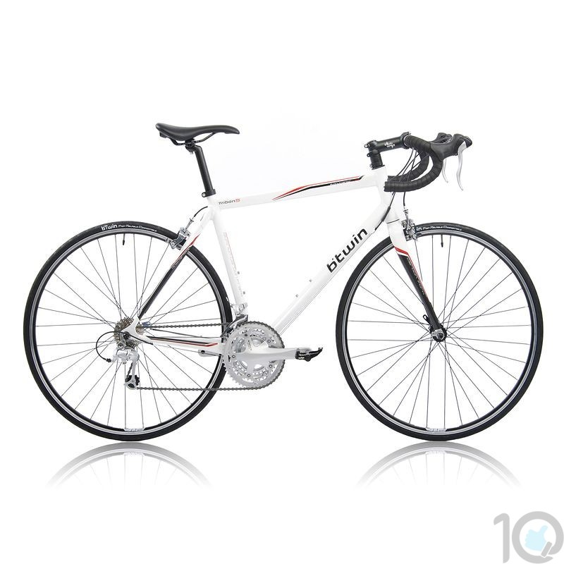 Buy Online India Btwin TRIBAN 5 WHITE | ROAD BIKES Online