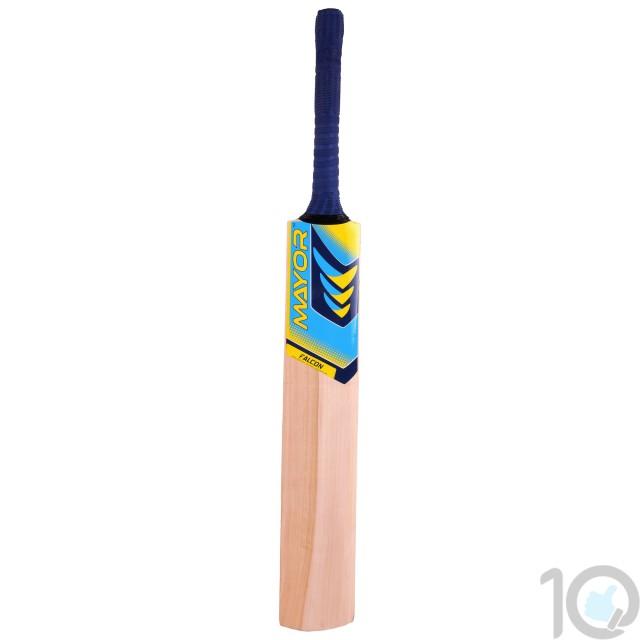 buy Mayor Natural Color Kashmir Willow Cricket Bat-MKW2000 best price 10kya.com