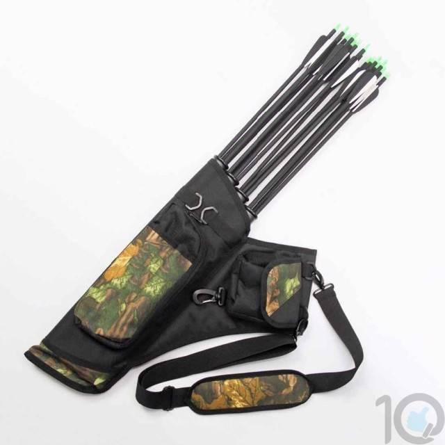 Archery Quiver - 12-24 Sling Arrow Bag   10kya.com Archery Bow & Arrow Store Online India