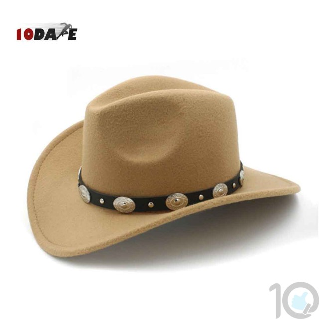 10Dare Cowboy Stetson Hat   Outdoor Protection Sun, Cold and Bugs   10kya.com