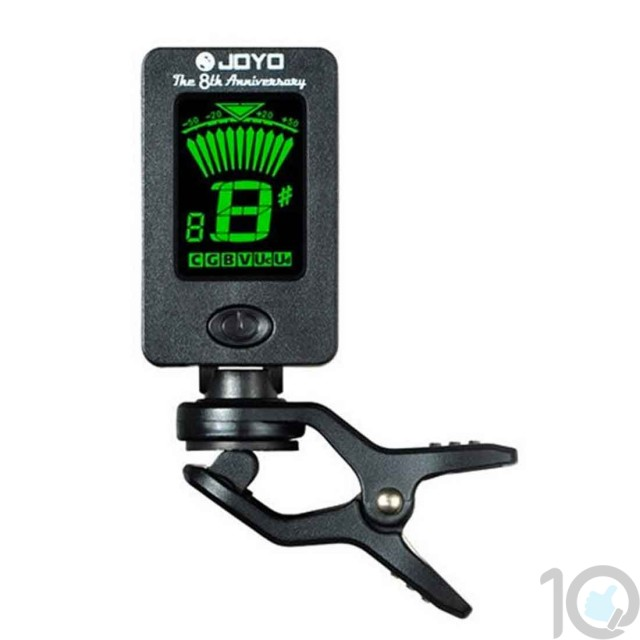 Electronic Guitar Tuner | Clip On Tuner for String Instruments | 10kya.com Guitar Accessories India