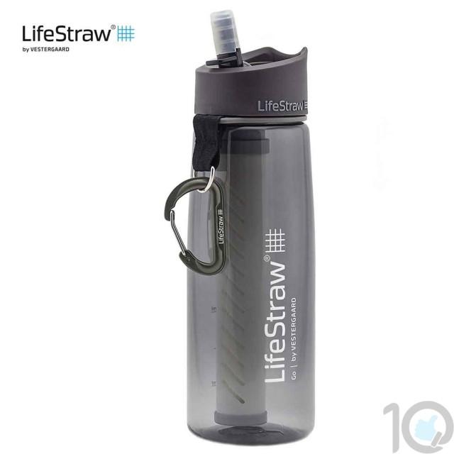 Lifestraw Go Water Filter Bottle LSGOV2CR54 | 10kya.com Outdoor Adventure Store India