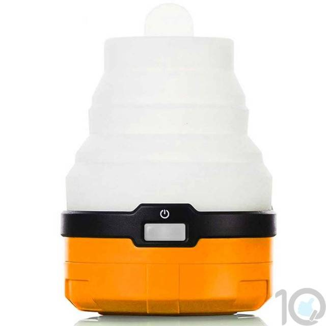Magic Camping LED Light - Orange Base | 5 Modes | 10kya.com Outdoor Gear Store