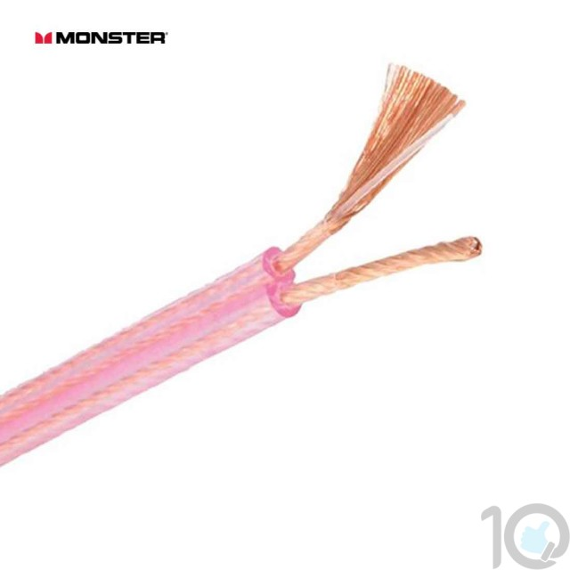 Monster XPHP Clear Speaker Cable 100 ft | 10kya.com Monster Cable Store India