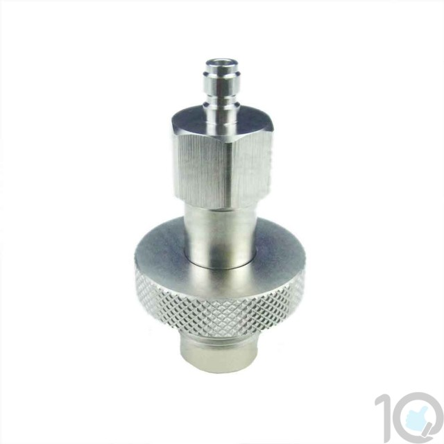 Scuba Tank DIN to 8mm Adapter   PCP Adapter Hose Quick Disconnect   10kya.com