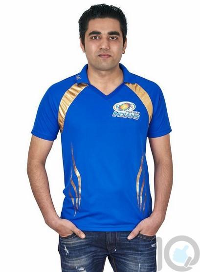 Poly Mumbai Iindian IPL Cricket Shirt