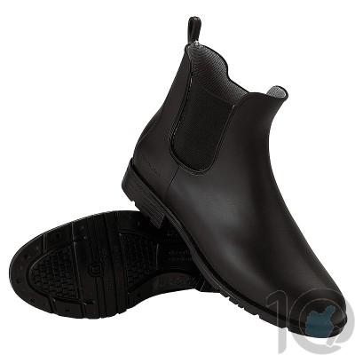 Fouganza Schooling-Boots-100 Black-10 UK|559666 [ HSN 64