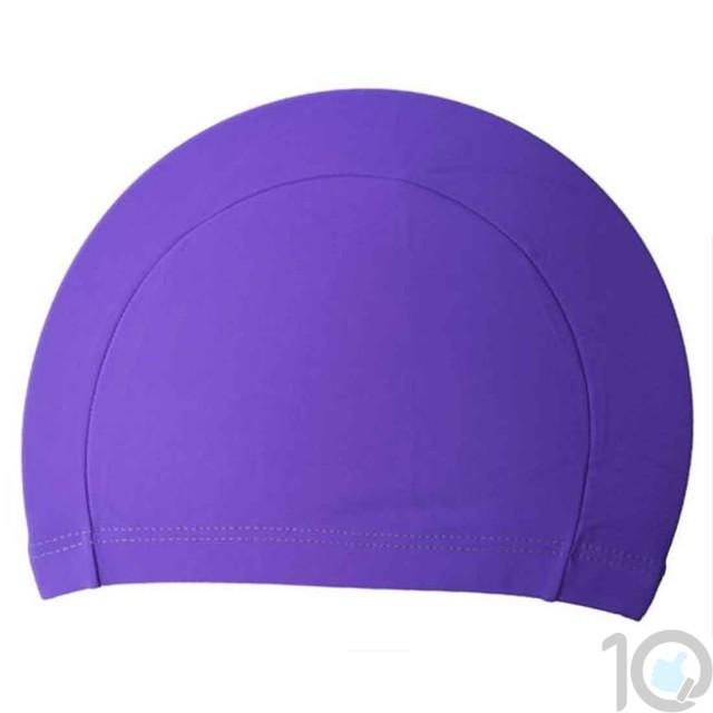 10Dare Swimming Cap | Purple | Uni-Sex | 10kya.com Swimming Store Online