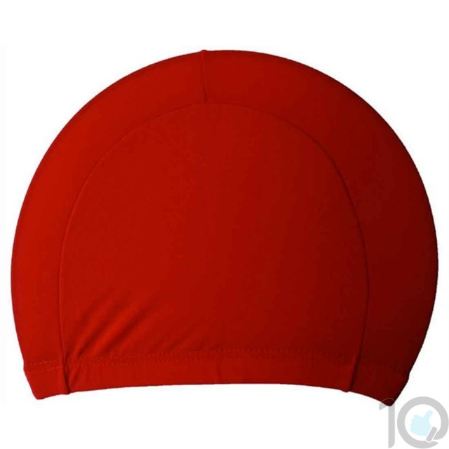 10Dare Swimming Cap   Red   Uni-Sex   10kya.com Swimming Store Online
