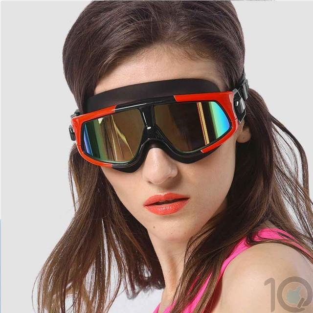 10Dare Pro Swimming Goggles Polarised   Anti Fog/UV   10kya.com Swimming Store Online India