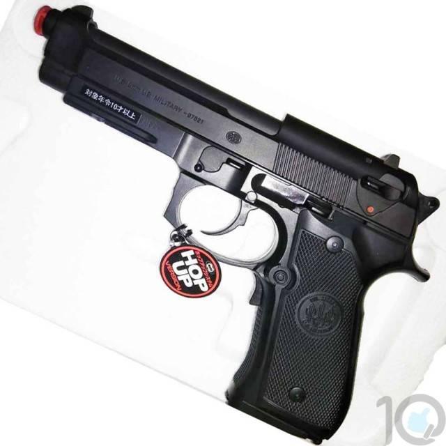 Tokyo Marui Beretta M9A1 AEP Hard ABS Plastic Electric Soft BB Pistol |  BlowBack | 6mm Plastic BB | C2C Airsoft Pistols Direct Imports [HSN 95