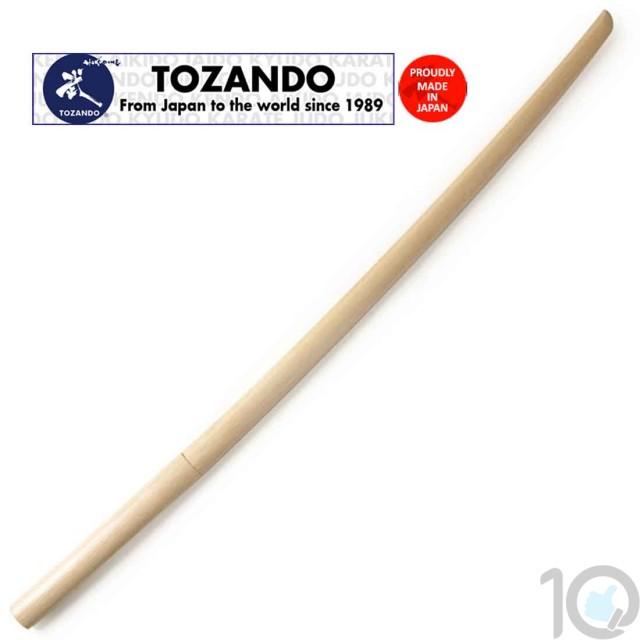 Tozando Shirogashi Bokken - Daito | Kendo Sword Long | 10kya.com Martial Arts India