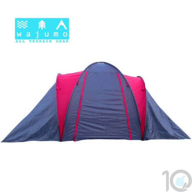 WAJUMO-ATG 2 Bedroom 4-8 Person Camping Tent | 10kya.com Outdoor Gear Store