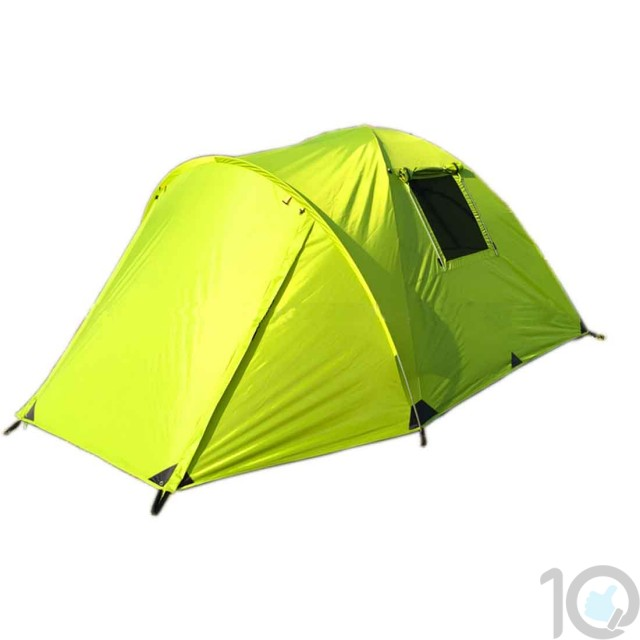 WAJUMO-ATG Double Layers 4-5 Person Camping Tent | 10kya.com Outdoor Gear Store