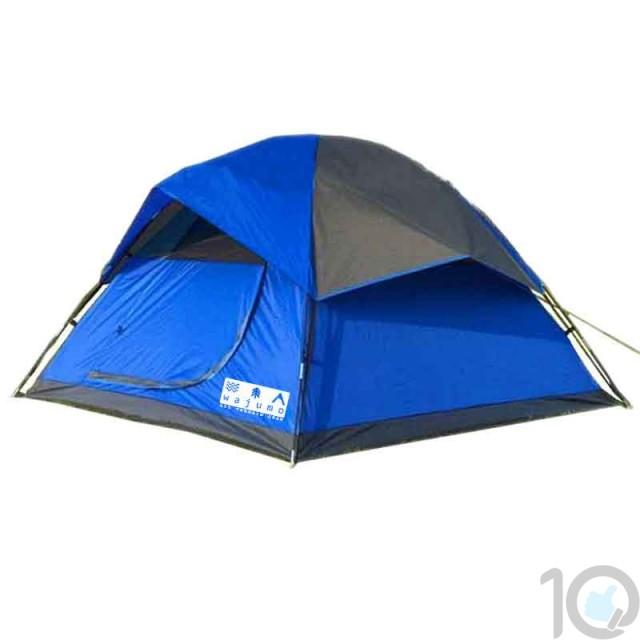 WAJUMO-ATG StarDome 4 person Tent Blue | 4 Person Waterproof Tent
