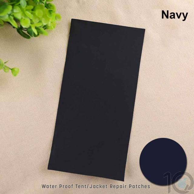 Camping Tent Repair Patch - Navy Blue | 5 Pcs | Self Adhesive | 10kya.com Camping Goods India