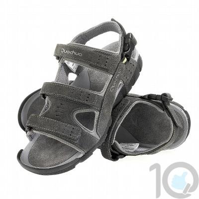 aspect esthétique chaussure caractéristiques exceptionnelles Quechua Arpenaz Sandale 200 M | Black UK - 11.5