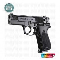 Walther CP88 | 12G CO2 | Pellet Air Pistol | Black [ HSN 93040000