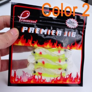 Fishing Bait Minnow 10 Pcs Pack | Green | Lures Bass Fresh/Salt Water | Fishing Lures [HSN 9507