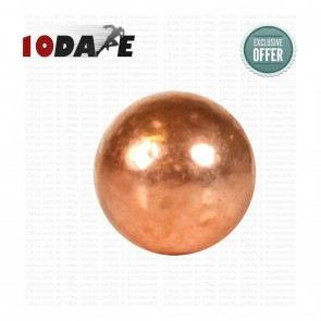 10dare Copperhead BB Pellet for CO2 Pistols | 5,28 gr | 0.177 - 4.5mm | 500 Pellets [ HSN 93062900