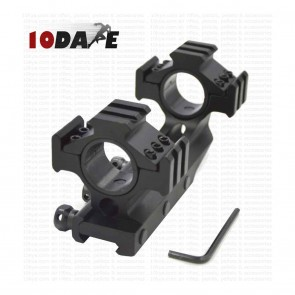 10Dare 25/30 mm Twin Ring Scope 20mm Rail Mount 6 21mm Rail Mounts | 10kya.com Airgun India Store