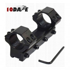 10Dare 25 mm Twin Ring Scope 11mm Rail Mount 100mm Length | 10kya.com Airgun India Store