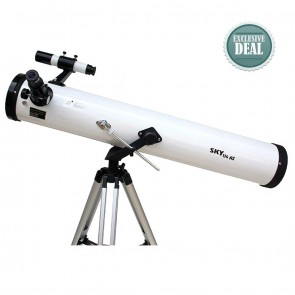 Star Tracker Reflector Telescopes | Model 114 AZ1 | Astronomical Telescope [ 36x to 450x ] [ HSN 90058010