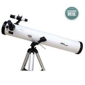 Star Tracker Reflector Telescopes | Model 114 AZ1 | Astronomical Telescope [ 36x to 450x ] [ HSN 90058010