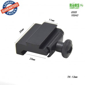 10Dare 20mm to 11mm Rail Adapter | 10kya.com Airgun India Store