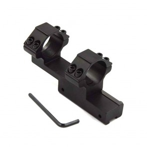10Dare 25.4mm Twin Ring Scope Mount on 11mm Rail Mount | 10kya.com Airgun India Store