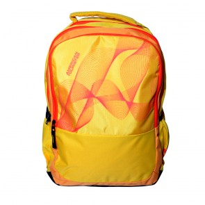 Buy Online American Tourister Backpacks Code 7 Yellow Lowest Price   10kya.com American Tourister Online Store