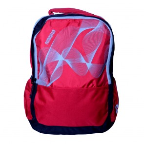 Buy Online American Tourister Backpacks Code 7 Red Lowest Price   10kya.com American Tourister Online Store