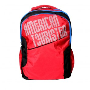 Buy Online American Tourister Backpacks Code 2 Red Lowest Price | 10kya.com American Tourister Online Store