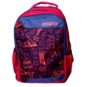 Buy Online American Tourister Backpacks Code 6 Red Lowest Price | 10kya.com American Tourister Online Store