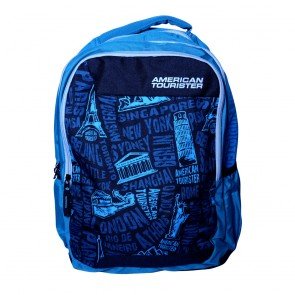 Buy Online American Tourister Backpacks Code 6 Turquoise Lowest Price | 10kya.com American Tourister Online Store
