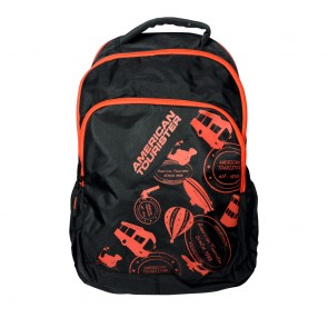 Buy Online American Tourister Backpacks Code 1 Black Lowest Price | 10kya.com American Tourister Online Store