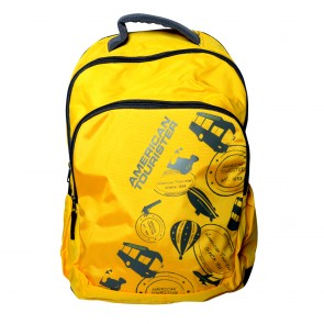 Buy Online American Tourister Backpacks Code 1 Yellow Lowest Price | 10kya.com American Tourister Online Store