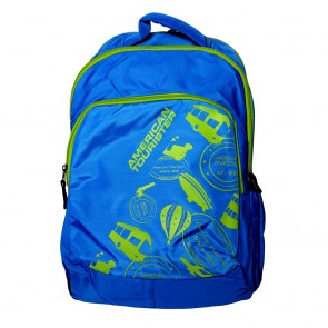 Buy Online American Tourister Backpacks Code 1  Blue Lowest Price | 10kya.com American Tourister Online Store