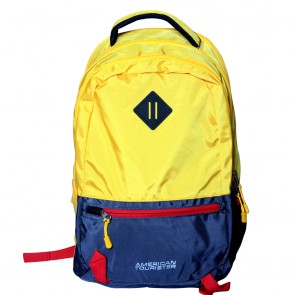 Buy Online American Tourister Backpacks Buzz 4 Yellow Lowest Price | 10kya.com American Tourister Online Store