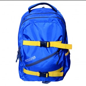 Buy Online American Tourister Backpacks Buzz 2 Blue Lowest Price | 10kya.com American Tourister Online Store