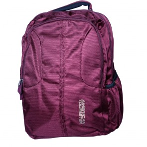 Buy Online American Tourister Backpacks Citi Pro 1 Burgundy Lowest Price | 10kya.com American Tourister Online Store