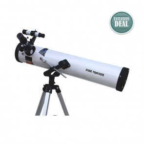 Star Tracker Reflector Telescopes | Model 76/700 AZ1 | Astronomical Telescope [ 28x to 350x ] [ HSN 90058010