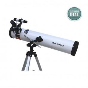Star Tracker Reflector Telescopes | Model 76/700 AZ1 | Astronomical Telescope [ 28x to 350x ] [ HSN 90058010