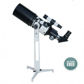 Star Tracker Refractor Telescopes | 80/400  TableTop TravelScope HOTSTAR  | Telescope [ 16x to 120x ] [ HSN 90058010