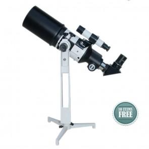 Star Tracker Refractor Telescopes | 80/400  TableTop TravelScope HOTSTAR  | Telescope [ 16x to 120x ] [ HSN 90058010