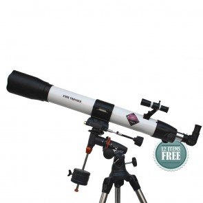 Star Tracker Refractor Telescopes | 80/900 EQ3  | Telescope [ 45x to 675x ] [ HSN 90058010