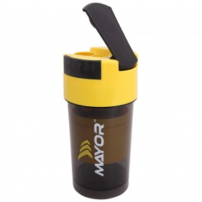 buy Mayor Hurricane-Shaker 600ml | MSB2000-Yellow-Black best price 10kya.com
