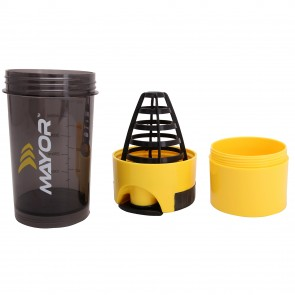 Mayor Hurricane-Shaker 600ml | MSB2000-Yellow-Black