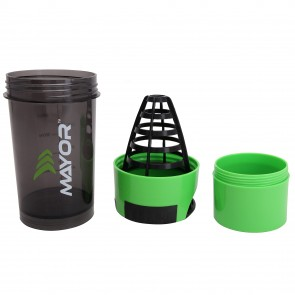 Mayor Hurricane-Shaker 600ml | MSB2000-Green-Black