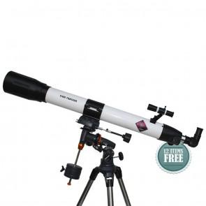 Star Tracker Refractor Telescopes | 90/1000 EQ3  | Telescope [ 50x to 750x ] [ HSN 90058010